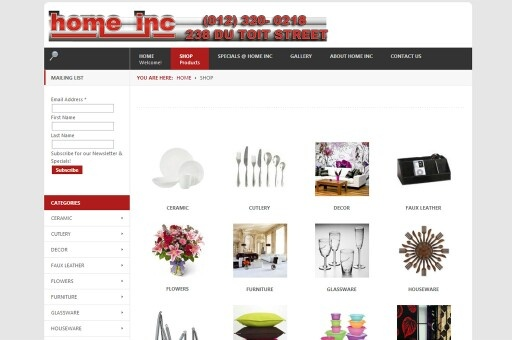 Homeinc,  one of our first few clients,  used to keep awesome stuff, site closed when the operation shut down.