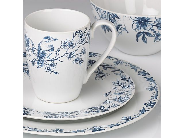 kathy ireland Home® Nature\u0027s Song Dinnerware Place Setting by Gorham®  sc 1 st  Pinterest & 52 best Everyday Place Settings images on Pinterest | Place setting ...