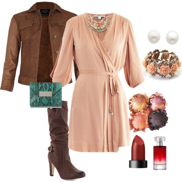 Fall wedding guest by shebeetle on polyvore what to for Dress to wear to outdoor wedding
