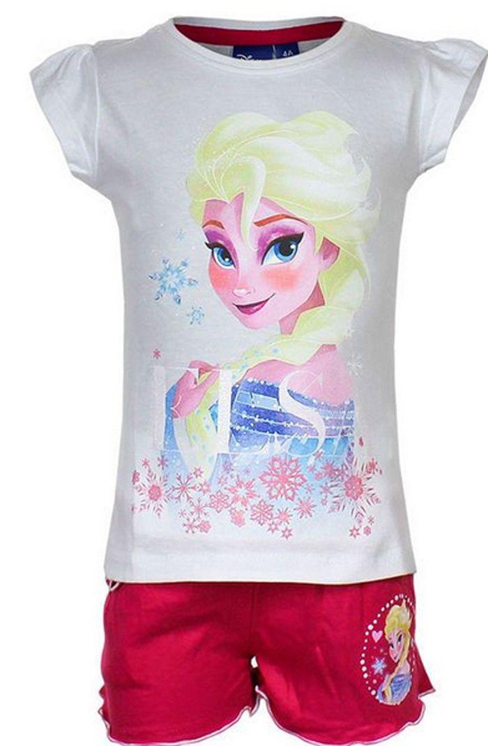 BabyTreasure- Μπλούζα και σορτσάκι Frozen Disney - Frozen - 16,70€