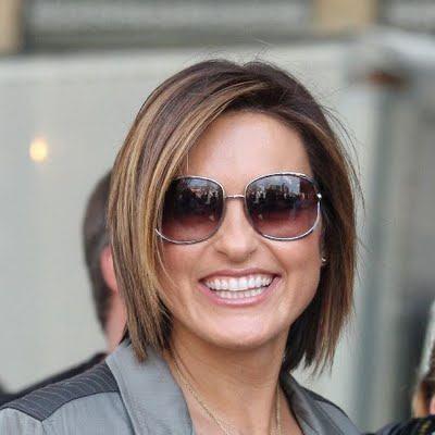 Mariska Hargitay Chin Length Hairstyle