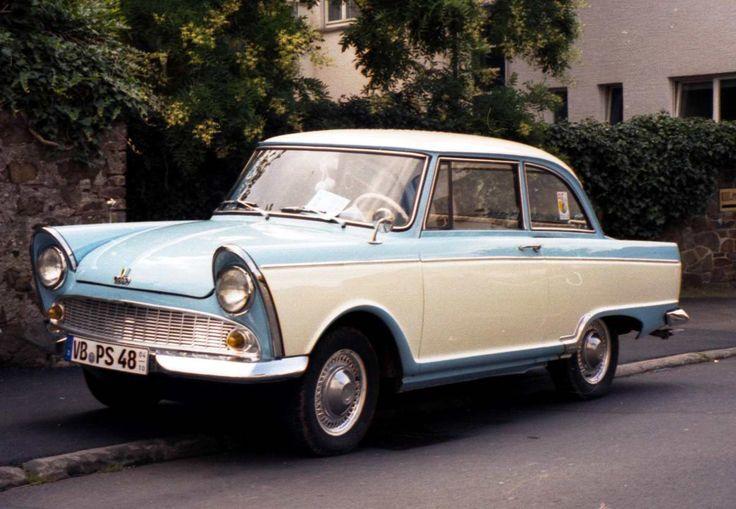 DKW Junior: Das Auto meiner Mutter in den 70ern (in hellblau