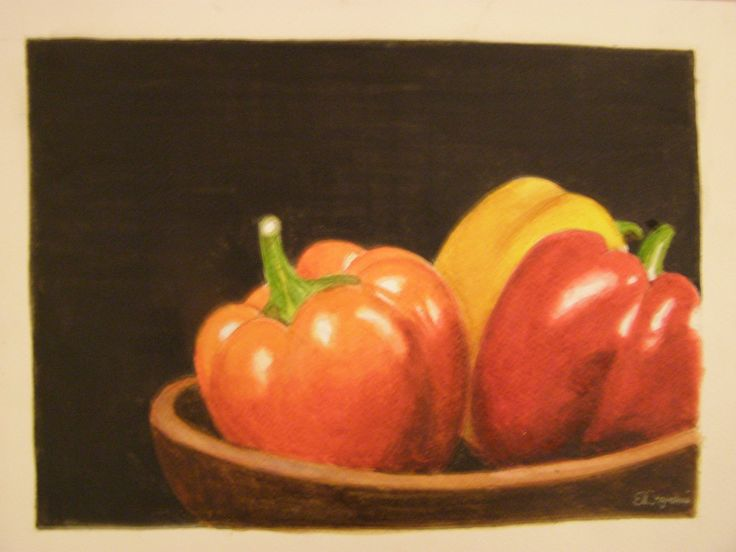 Peppers ( watercolour)