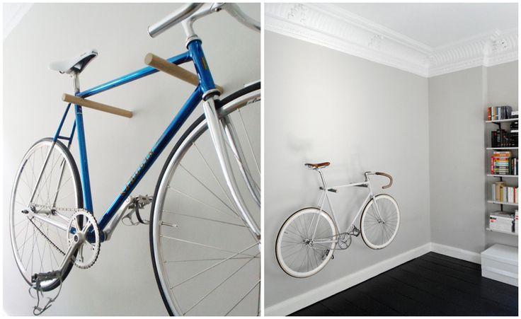 10 Gave manieren om je fiets thuis op te bergen | Woonhome.nl