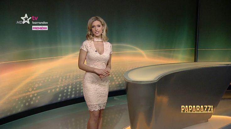 Lucie Šprinclová Czech presenter 19.3.2017