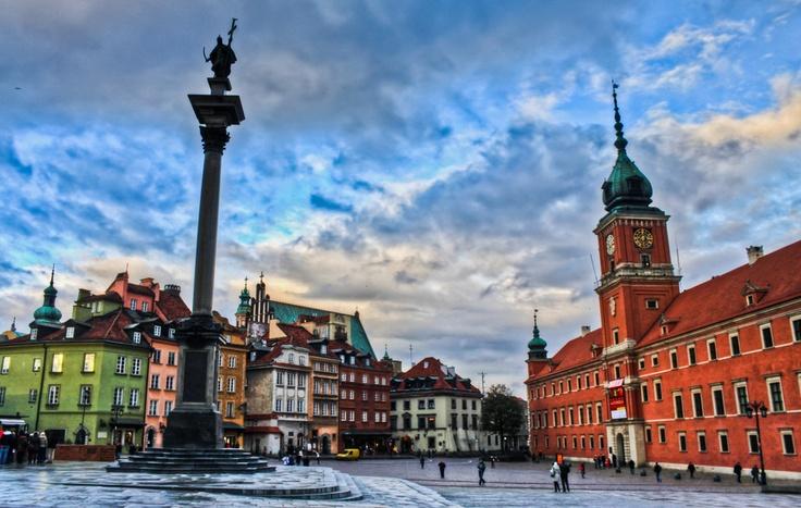 Warsaw old town, Poland.