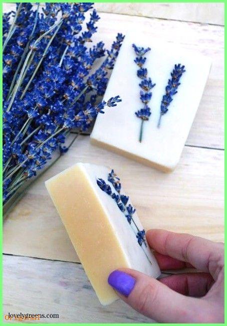 50+ Hautpflege – Hausgemachte Lavendel Seife Rezept mit Sheabutter & Lavendel ätherische…