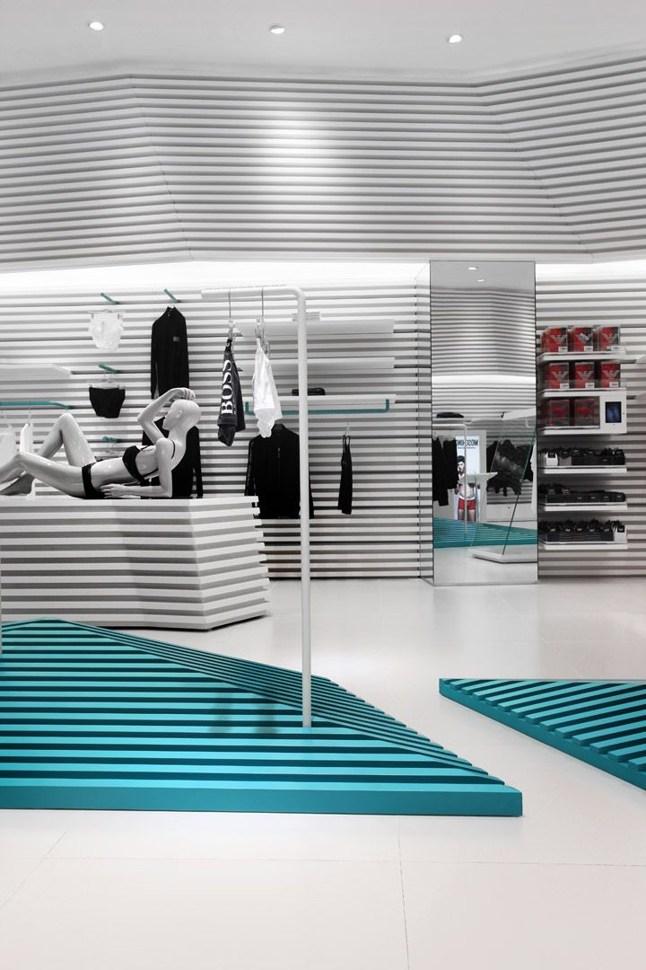 UMix of top underwear and casual wear multi  brand store by AS Design, Macau store design