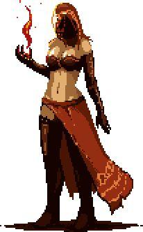 Dark Souls,фэндомы,DS персонажи,DS art,DSII персонажи,Dark Souls 2,DS gif,Desert Sorceress,Пустынная Волшебница,Пиксель Арт