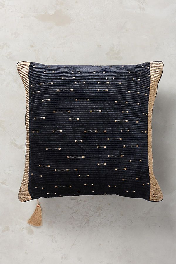 Embroidered Nadiyah Pillow Pillows, Anthropologie and Apartments