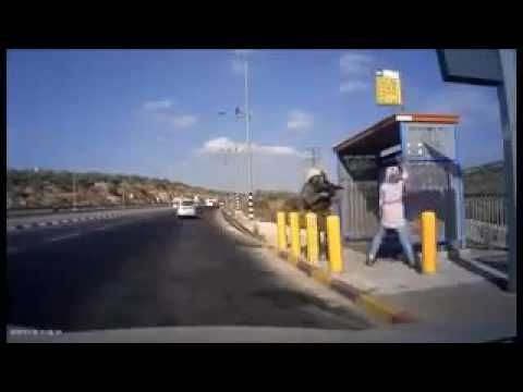 Woman shot while trying to attack IDF soldiers with knife (video) - Guns.Guru