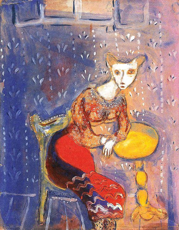 Les 26 meilleures images du tableau chagall sur pinterest for Chagall tableau