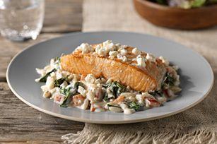 Salmon Mediterranean recipe