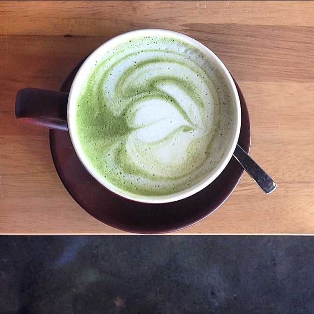 12. A Matcha Latte From The Wholesome Bowen Arrow Cafe