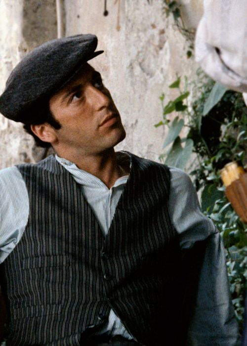 Al Pacino as Michael Corleone in The Godfather,1972