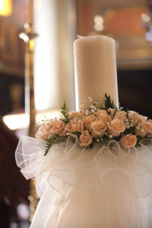 Lambathes...(wedding candles) Photo Credit: Photopek.gr
