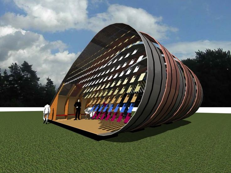 This is a pavilion that I designed with my brother, Martin, for Electric Picnic festival. To be made from plywood and recycled wellington boots!