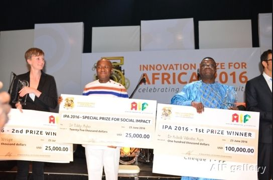 The African Innovation Foundation(AIF) (http://ift.tt/107iMSA) today announced the top 10 nominees who will be contending for the 2017Innovation Prize for Africa(IPA)  to be awarded in Accra Ghana onJuly 18.  Innovators from nine African countries including Democratic Republic of Congo Egypt Kenya Liberia Morocco Nigeria South Africa Uganda and Zimbabwe were shortlisted for the prestigious Prize.  There are two Nigerians on the list. They are Omolabake Adenle andOlanisun Olufemi Adewole…