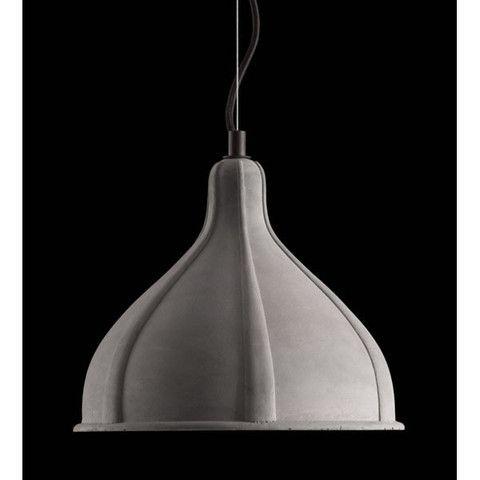Zuo Prospect Ceiling Lamp Concrete Gray