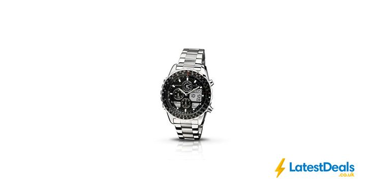 Accurist Men's Quartz Watch with Black Dial Chronograph Display Free Delivery, £67.43 at Amazon UK