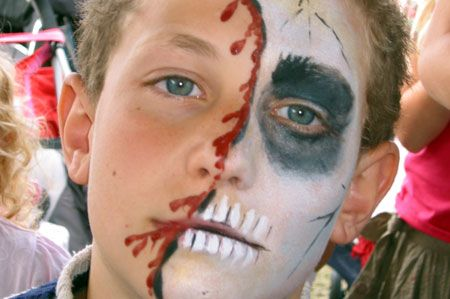 Face Paint Designs for Boys | Tiger Faces, Monsters, Robots by Budding Stars Professional Face Painters | Surrey M25 (Tadworth, Kingswood, Redhill, Reigate, Guildford)