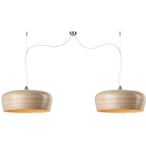 Idee lamp boven de eettafel - It's About Romi Hanoi Hanglamp Ø 60 cm - Naturel