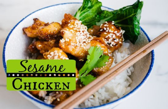 This sesame chicken recipe is a slimmed-down and healthier version of the sesame chicken from PF Chang's and other Chinese restaurants.