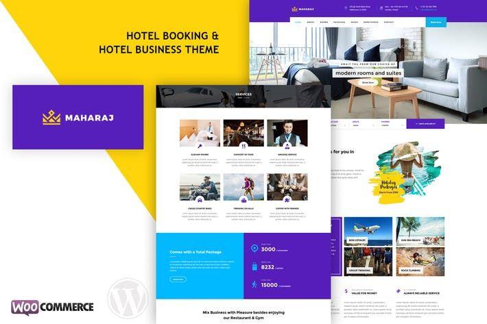 Maharaj Hotel Hotel Booking Wordpress Theme In 2020 Wordpress Theme Wordpress Elegant Wordpress Themes
