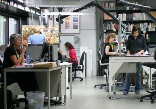 Captivating Conservation Lab At The Kröller Müller Museum (Netherlands)