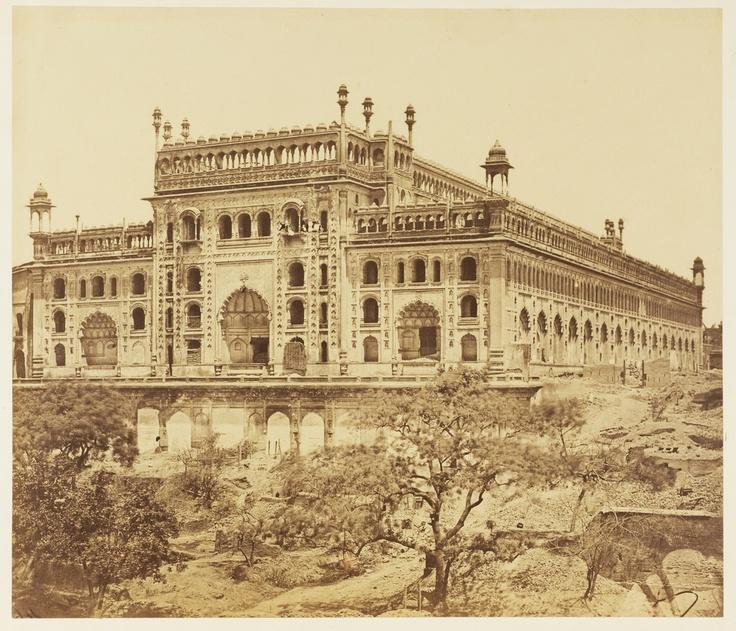 Southwest View of the Bara Imambara - Lucknow Uttar Pradesh ++1858