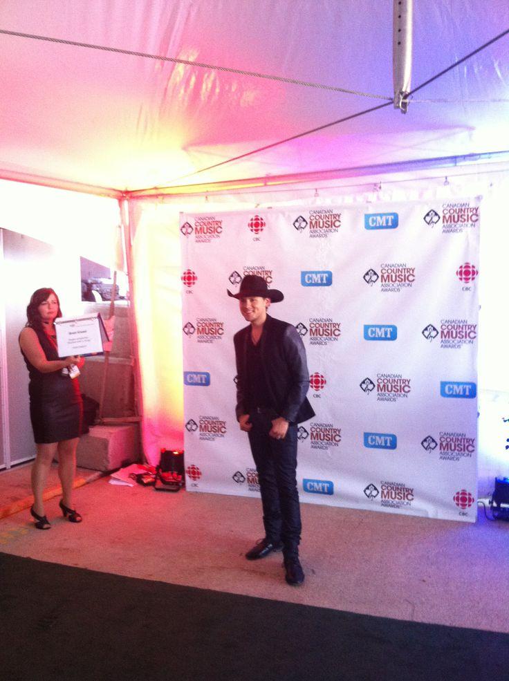 Brett Kissel  at the #CCMA Awards