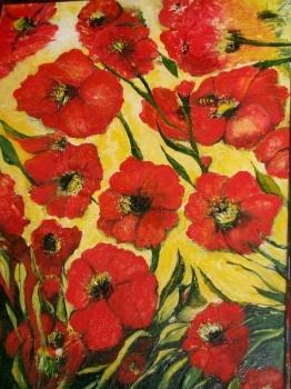 Poppy Show - Flowers  Artist: coleman, glenys  Artwork title: Poppy Show31