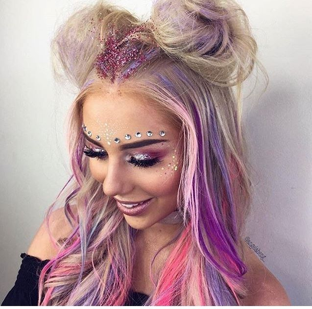 350 Best Images About Rave Makeup On Pinterest | EDC Festivals And Mermaids