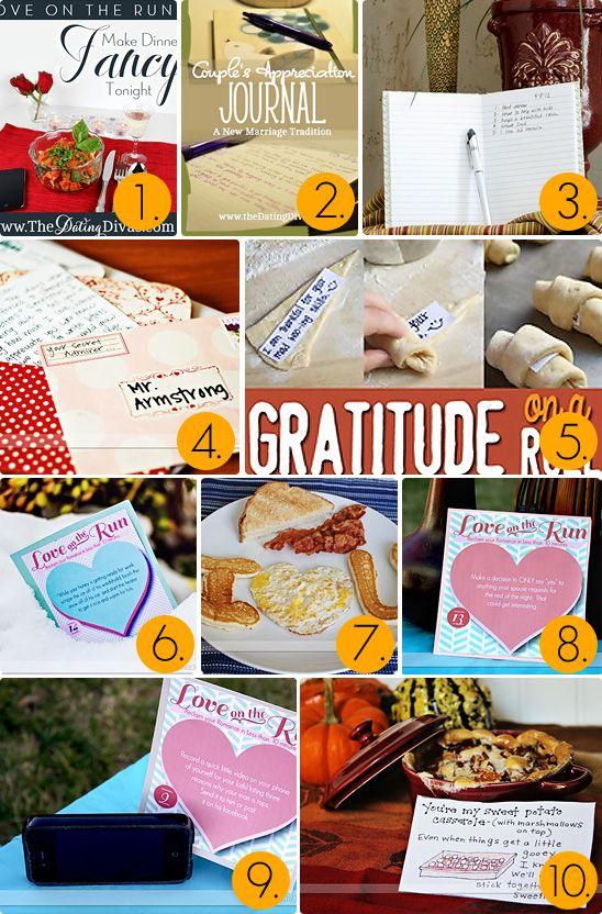 101 Ways to Show Gratitude to Your Spouse!