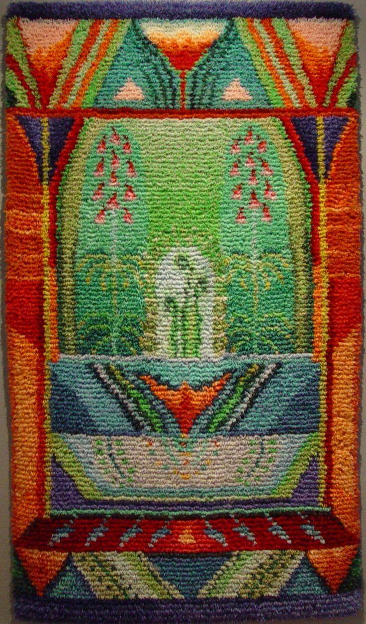 Rya rag. Design by Finnish textile artist Sirkka Könönen.