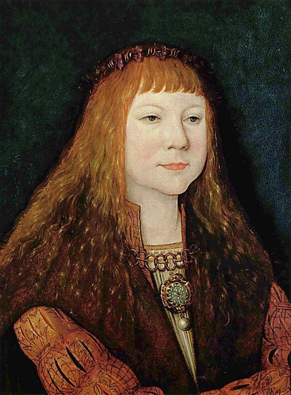 Bernhard Strigel [German Northern Renaissance Painter, ca.1460-1528] Portrait of Louis II of Hungary, c. 1515
