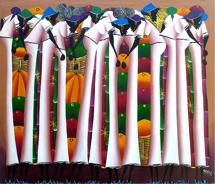 197 best Haitian Art images on Pinterest | Canvas art ...