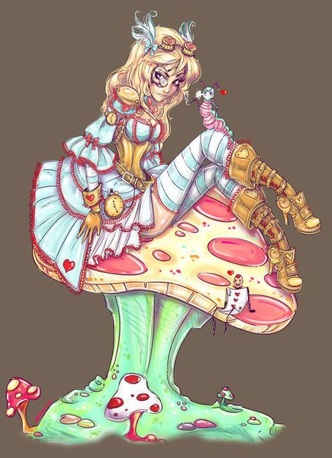 Steampunk Alice by ~NoFlutter on we heart it / visual bookmark #6056945