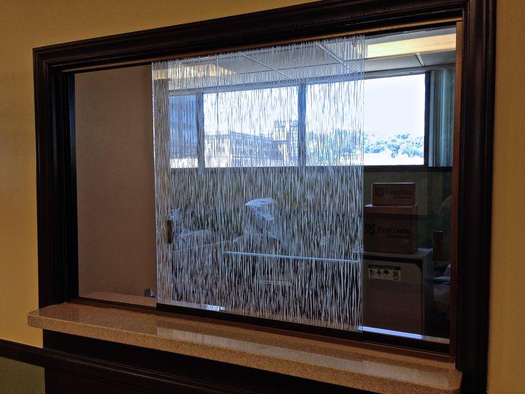 sliding glass office reception windows crl side view of the office reception windows at st francis hospital in charleston wv 68 best building interiors lintec digital window graphics projects