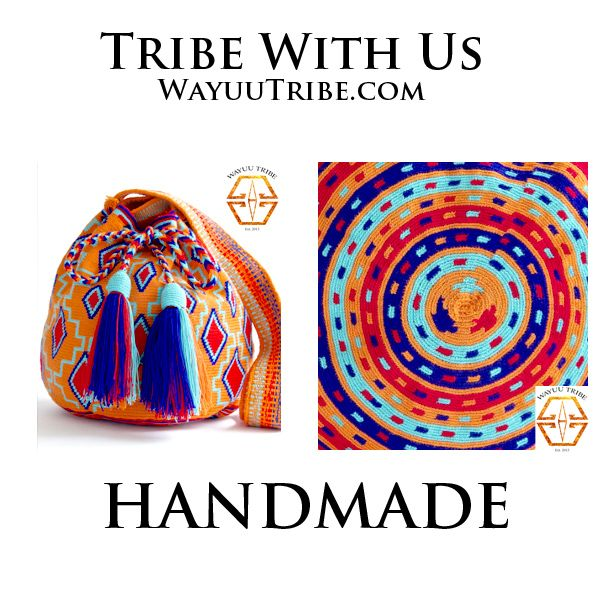 Visit www.Wayuutribe.com to see more Mochilas and boho bags styles. These bags are known as the Susu bag to the Wayuu people. The average bag takes 15-30 day to hand weave. All bags are Handmade. Wayuu people are use bight different colors and patterns to tell the story of the weaver. These are all one-of-kind bags. Wayuu tribe bags are $75.00-$ 260.00.They are woven with cotton thread. A nice beach bag or farmer bag that is very sturdy. #boho #HANDMADE @StylingOn @ASOS.com.com
