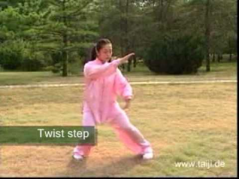 ▶ Tai Chi 10 Form, with English Titles | Nice little 10 movement form.