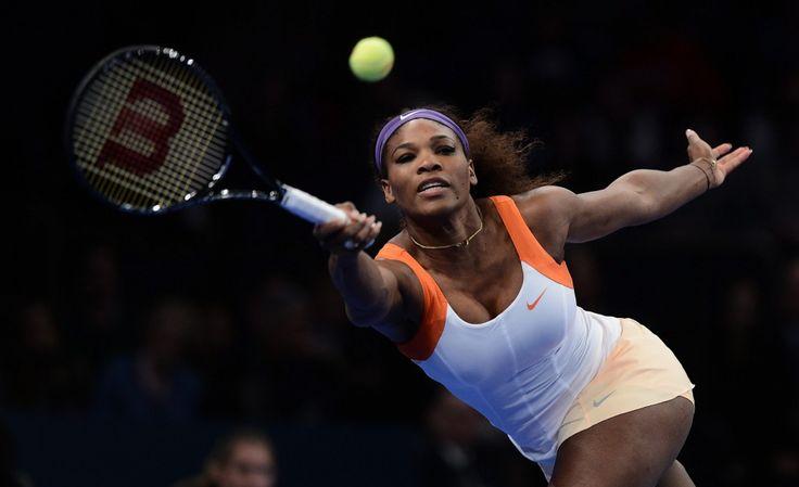 Serena Williams dejó la raqueta por el bikini y robó miradas