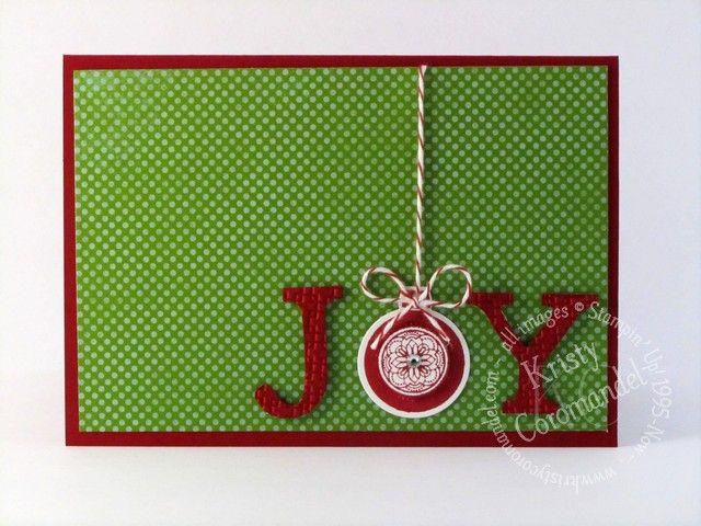 Joy Card - KristyCoromandel.com