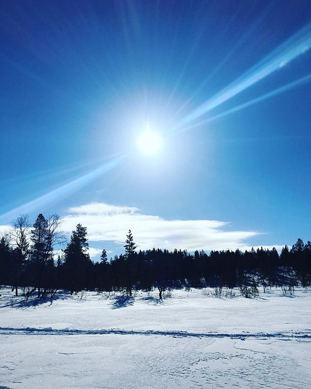 Imorra e det ut på tur igjen ☀️ Håper på fint vær! Let it be a sunny sunday so we can go icefishing 🤗 #sunnyday #icefishing #outsideisfree #outsiders #utno #finnsta #follow4follow #f4f #kirkenes #visitnorway #norway #winter #isfiske #fishing 🐣