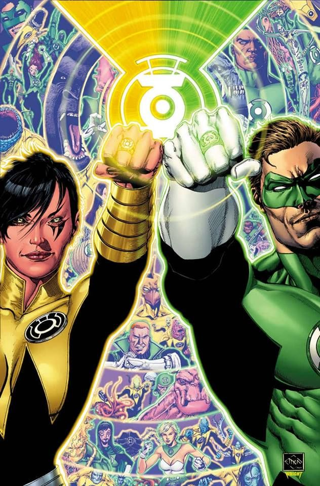 Hal Jordan and the Green Lantern Corps by Ethan Van Sciver