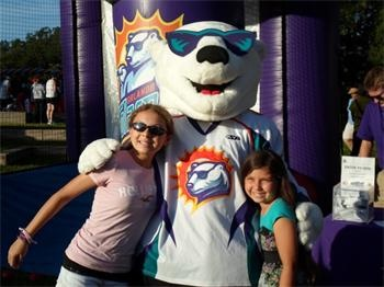 Orlando Solar Bears host their first home game against the Florida Everblades at Amway Center on Oct. 20