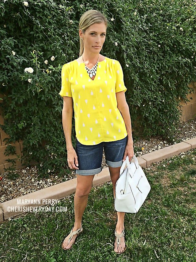 Cathleen Tulip Print Short Sleeve Blouse by 41 Hawthorn #stitchfix @stitchfix stitch fix https://www.stitchfix.com/referral/3590654
