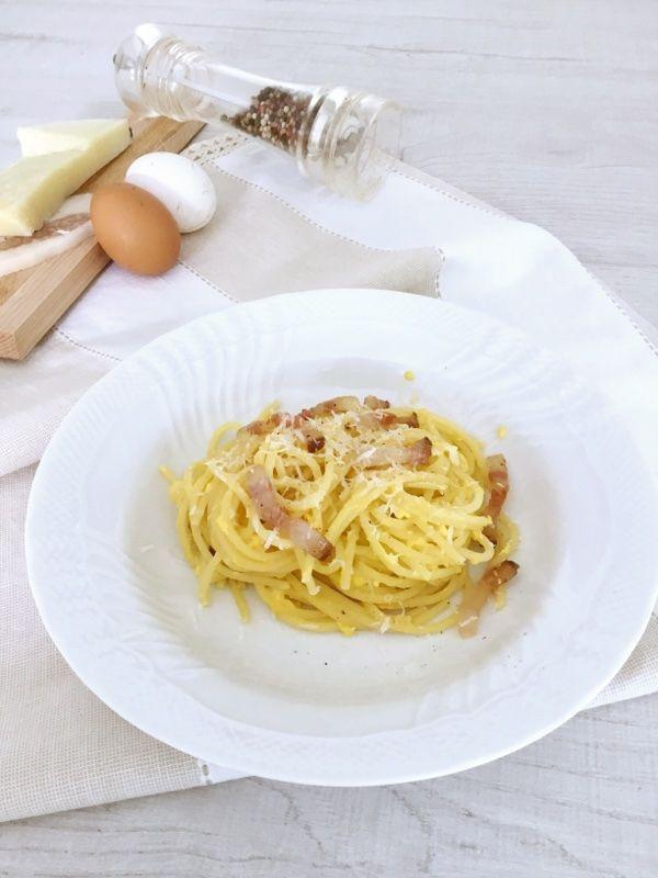 Spaghetti alla carbonara secondo la ricetta originale-Le Ricette Svelate