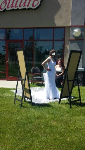 Bridal Couture Dezigns Www.bridalcouturedezigns.ca  Unique experience- Shop Outside.