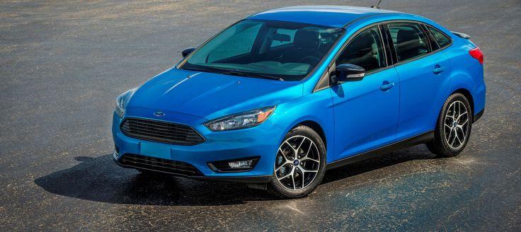 2015 blue Ford Focus